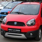 Презентовали хэтчбек Geely LC Cross